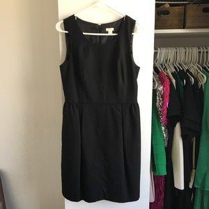 🌿 JCrew Sleeveless Black Dress